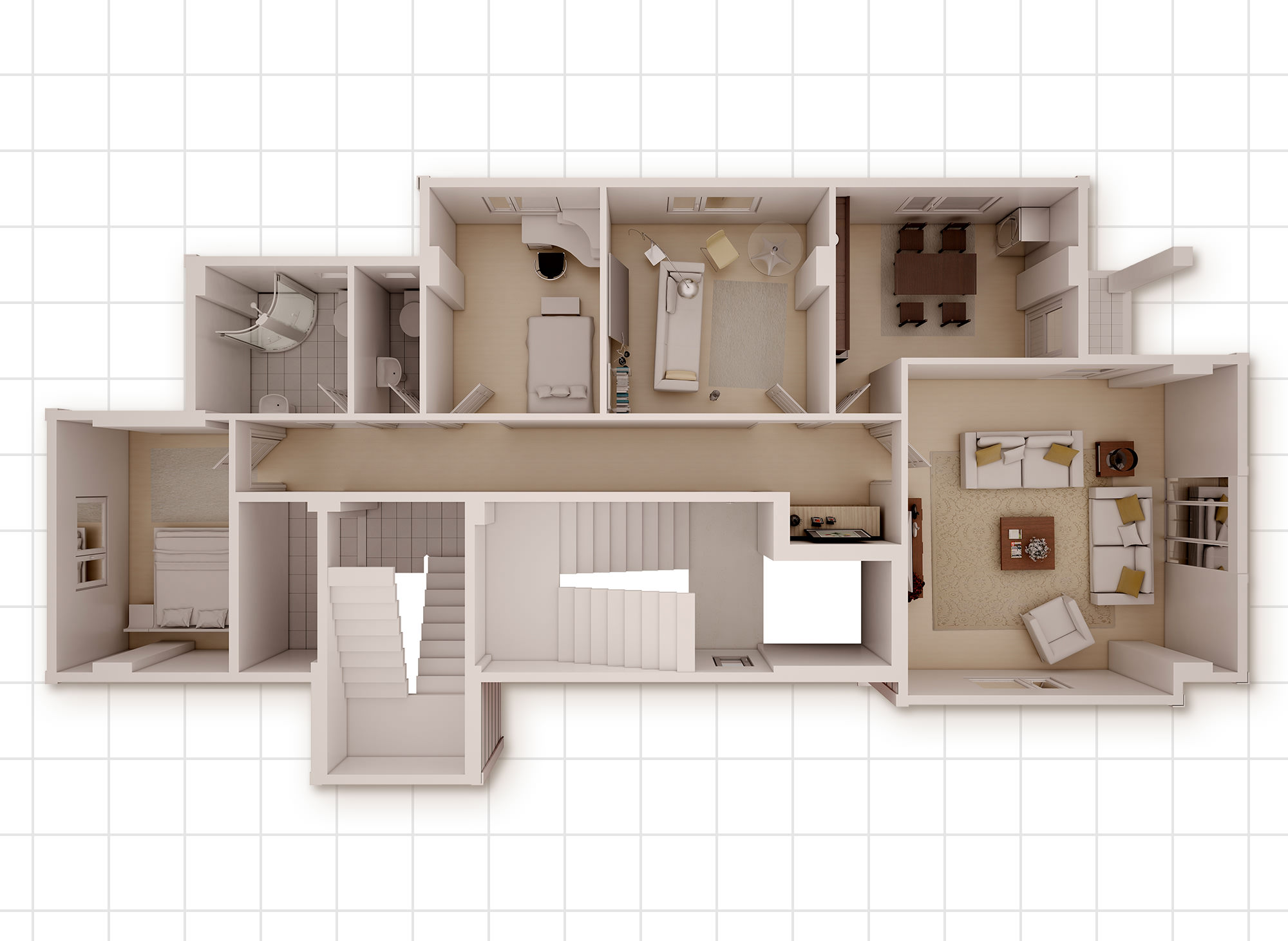 3d Floorplan - Architectural
